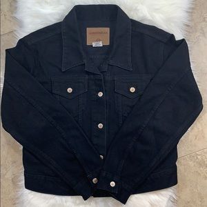 Vintage London Jean Jacket Black